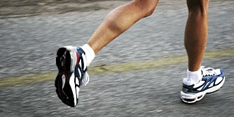IKKE PÅ HYLLA: Sko på hylla gir ikke god kondis. Men visste du at sko på hylla også kan bli for dårlige med årene?