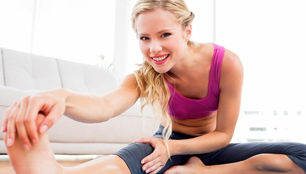 BEVEGELSE: Når du beveger deg og er aktiv i løpet av hverdagen, frigjøres det hormoner i kroppen som gjør deg gladere, gir deg bedre konsentrasjon på jobben, gjør at du sover bedre og kan dempe smerter i kroppen.