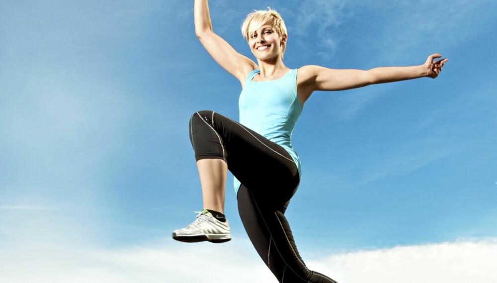I FARTA: Anne Rimmen har travle dager, og da må et treningsøkten være effektiv.