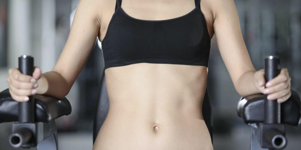 MAGETRENING: Magen er som alle andre muskelgrupper i kroppen, og trenger tung belastning, for så å få hvile.