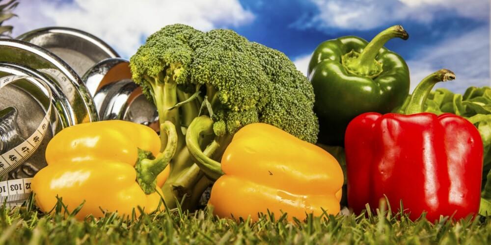 SUNT OG GODT: Treningsresultatene dine er hovedsakelig et resultat av hva du spiser.