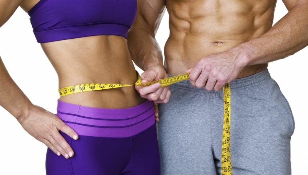 TREN MAGEN: For å få flatere og en mer veltrent mage er det to faktorer som spiller inn: muskelmasse og fettprosent.