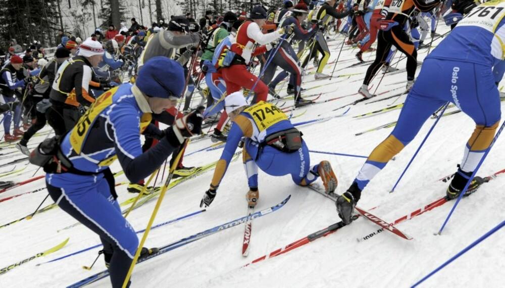 SÄLEN-MORA 20090301  Fra starten på Vasaloppet 2009 i Berga By hvor over 15 000 løpere deltar. K Foto: Ulf Palm / SCANPIX  SVERIGE