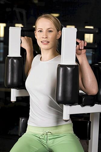 VARIASJON I TRENINGA: Når du har fulgt treningsprogrammet en måneds tid, er tida inne for å gjøre noe med øvelsene.