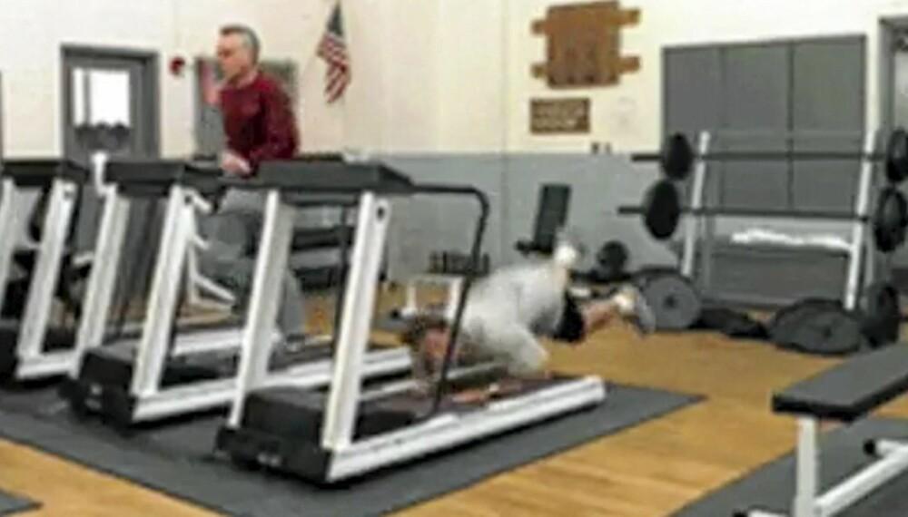 GALT: Er du en av dem som mener at trening er en risikosport? Se hvor galt det kan gå.