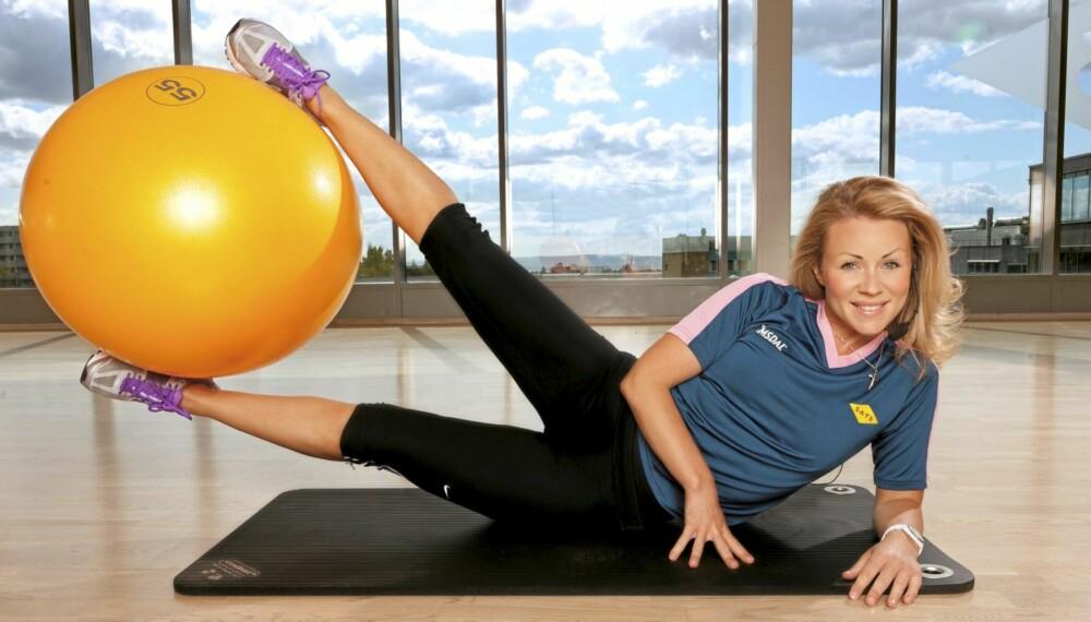 SPREK: Lene Alexandra er klar for nye utfordringer. Snart er hun utdannet personlig trener!