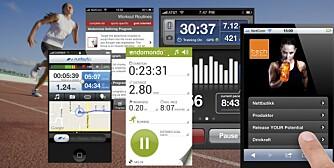 TRENINGSAPPER: Løp raskere og løft tyngre med appene som passer for deg.