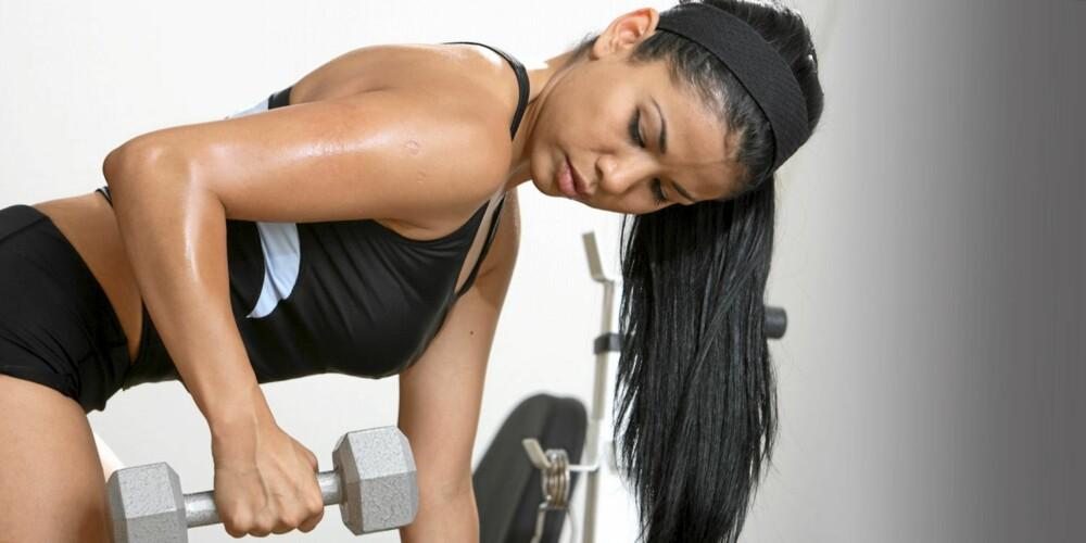 STERKERE: Ved å visualisere blir koblingen mellom hjernen og musklene sterkere, og du får tilgang til flere muskelfibre.