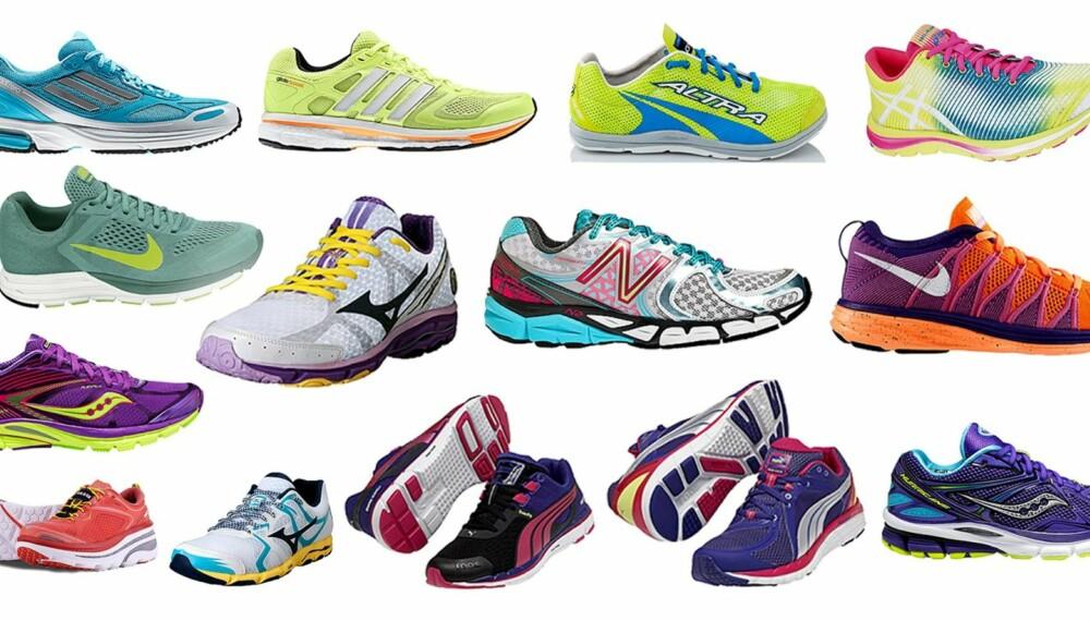 JOGGESKO: Klikk Helse og ShapeUp har i samarbeid med Löplabbet testet 14 par joggesko.
