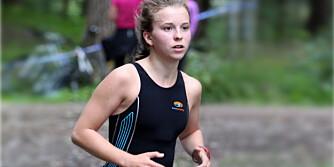TERSKELTRENING: - Jeg har forbedret meg 11 minutter på Oslo Triathlon normaldistanse fra i fjor til i år, sier Mari Drivdal Lie (22).