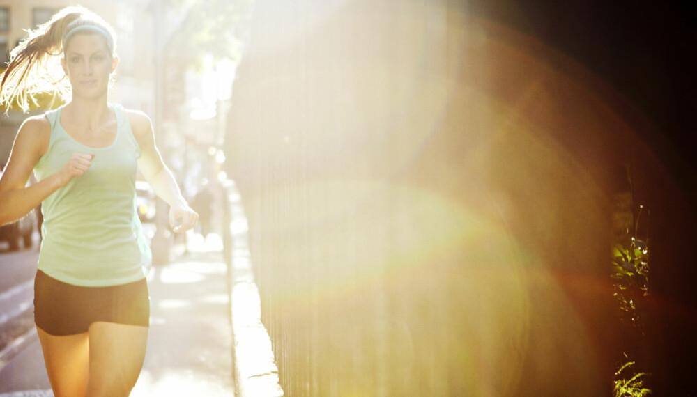 BLI RASKERE: Løper du for fort, for ofte? Du bør heller løpe roligere for mer effekt av treningen, ifølge ekspertene. ILLUSTRASJONSFOTO: Getty