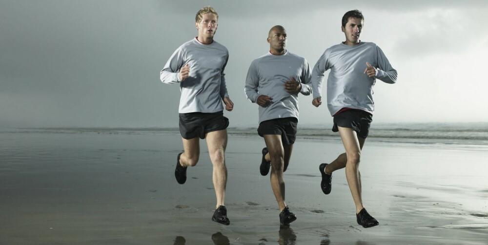 ROLIGERE: Pause betyr ikke at du skal gå, men at du skal jogge i snakketempo.