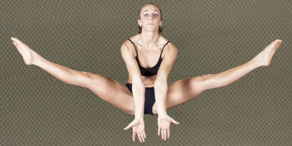 KONTROLL: Mange har kvinner en mye bedre kontroll og fintfølelse når det gjelder å bevege kroppen riktig enn menn.