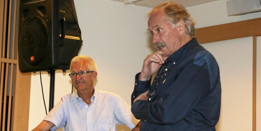 GODE RÅD: Jack Waitz og Johann Kaggestad har kommet med fem råd til utrente personer som vil komme igang med løpingen.