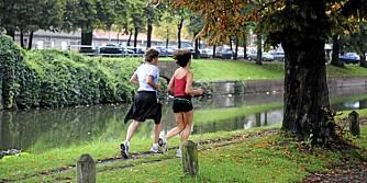 TO: Det kan være lettere å komme i gang, om man bestemmer seg for å løpe sammen med noen.