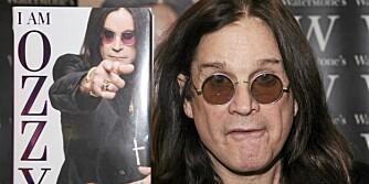 LEVENDE LEGENDE: Ozzy Osbourne har skrevet memoarer, hvor han forteller åpenhjertig om sitt ville liv både på og bak scenen.