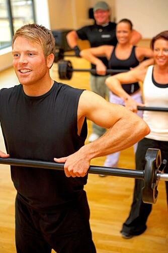 ALLSIDIG TRENING: Det er smart å trene både styrke og kondisjon i kombinasjon.