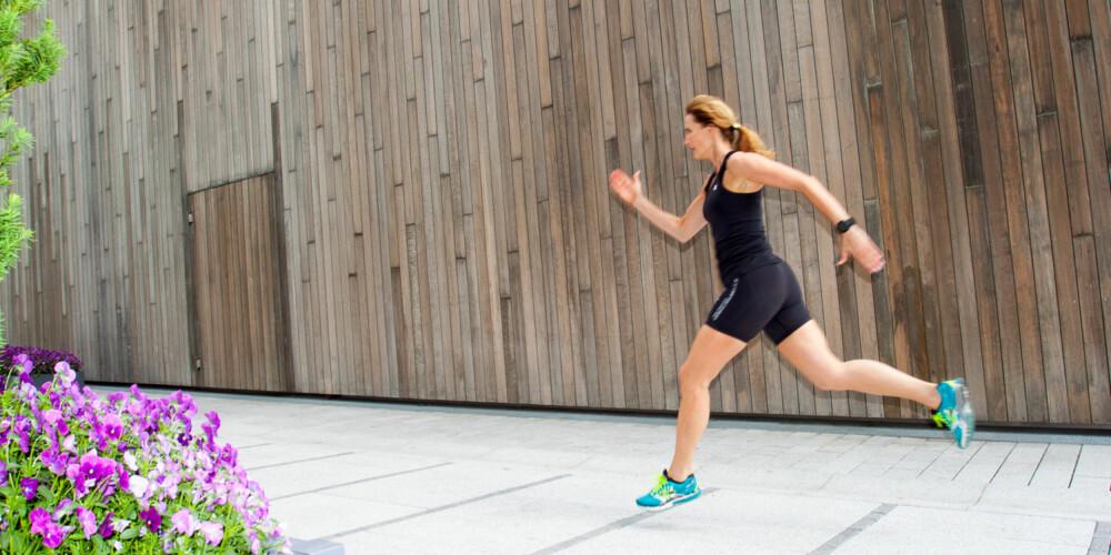 OPPVARMING: Varm opp i minst 10 minutter med generell aktivitet; rask gange, jogging eller sykling før øvelsene. FOTO: Jenny Mina Rødahl