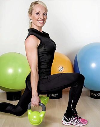 UTFALL: Du får sterkere muskler i sete, innside, utside, forside av lår og mage.