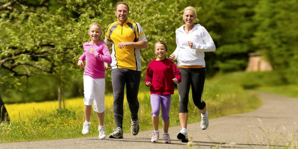 GENER: Arven fra foreldrene dine er umulig å unngå. De gir deg både gener og vaner.