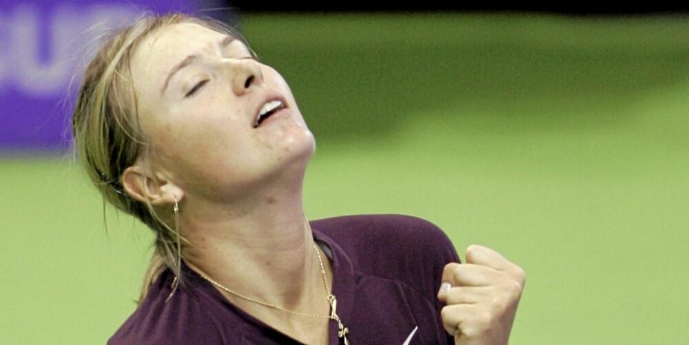 IKKE BARE LØPING: Den ekstatiske følelsen kalt runner's high kan sammenlignes med seiersfølelsen etter en jevn tenniskamp. Meget vanedannende - bare spør Maria Sharapova!
