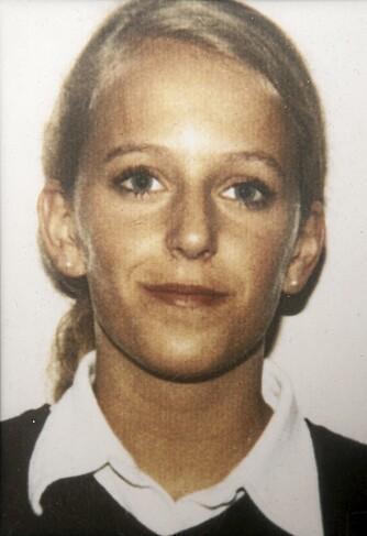TINA: Dette bildet av Tina var i førerkortet hennes, og gikk landet rundt da hun ble etterlyst.