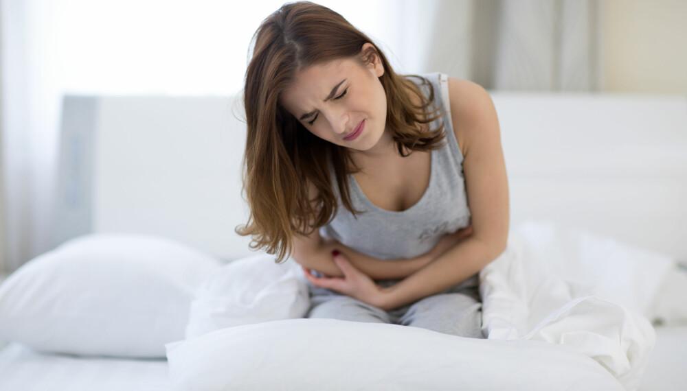 SMERTER: Smertene kan være vanskelig å skille fra vanlige menstruasjonssmerter, men det typiske er at medikamenter som ibuprofen og lignende ikke virker på endometriosesmerter. ILLUSTRASJONSFOTO: Colourbox