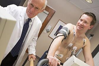 ALDERSSJEKK: Positiv livsstilsendring er viktig for å forebygge og redusere hjerte- og karsykdom. En test kan motivere til nødvendige livsstilsendringer.