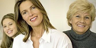HORMON: Østrogen kan lette plagene med overgangsalderen.