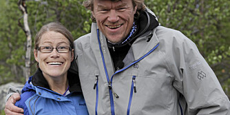 BLODSLIT: - En flott utfordring, men et blodslit, sier Kari Sangro Olestad (31) om turen til Snøhetta med Lars Monsen og 10 andre med fysiske funksjonsnedsettelse.
