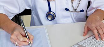 VIKTIGST FØRST: Snakk med legen om det som bekymrer deg mest først. Husk likevel at også opplysninger du tror er uten betydning, kan være viktige for helsen din.