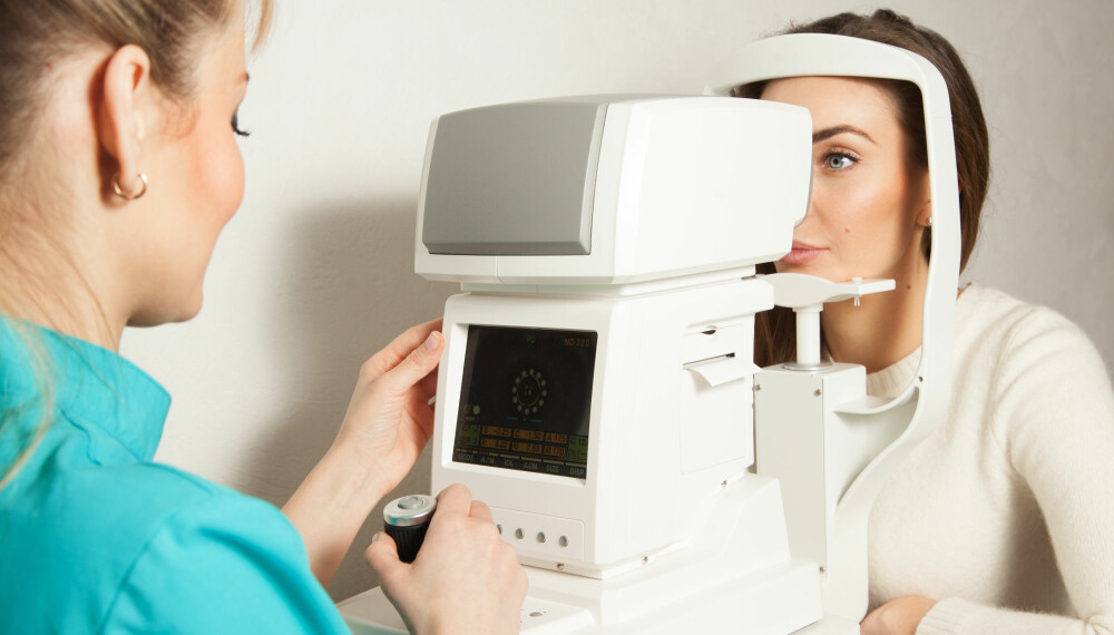 SYNSUNDERSØKELSE: Sjekk synet ditt regelmessig for å unngå øyesykdommer, som i verste fall kan føre til at du blir blind.