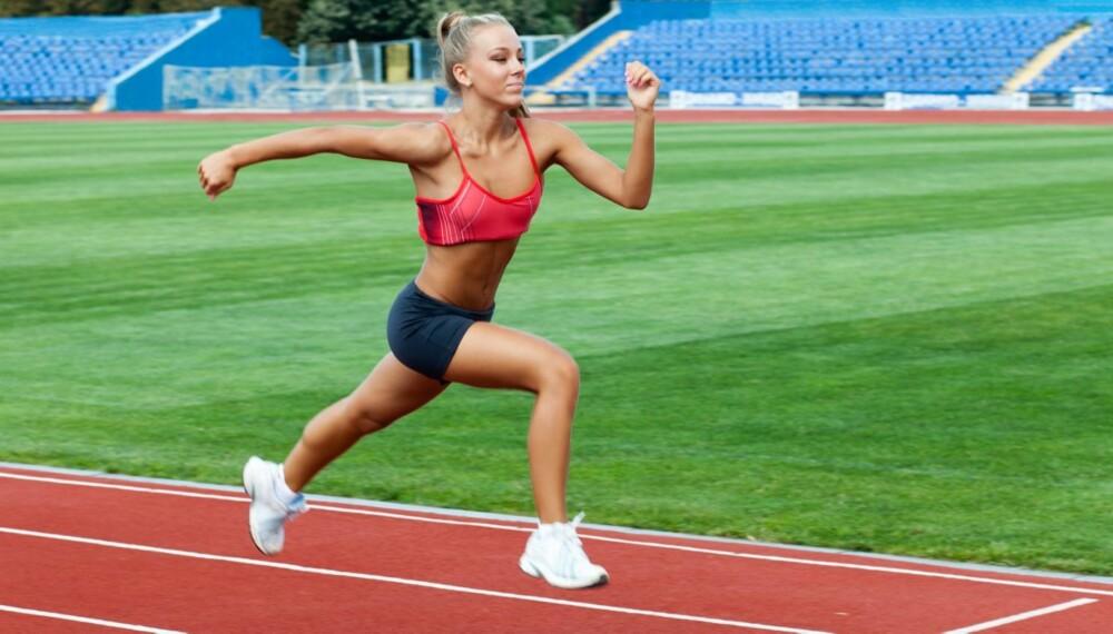 SPRINTØKTER: Vi har fått tips fra løpeekspert Kari Uglem.