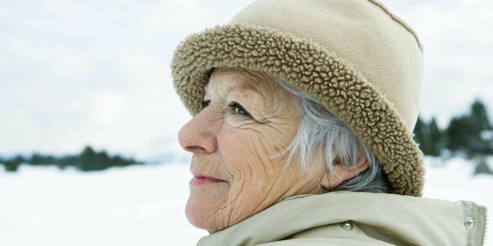 60 ÅR OG ELDRE: Urinlekkasje, slitasjesykdom, hjertesykdom, høyt blodtrykk og benskjørhet (osteoporose) er noen av tilstandene som er vanlig for eldre kvinner.
