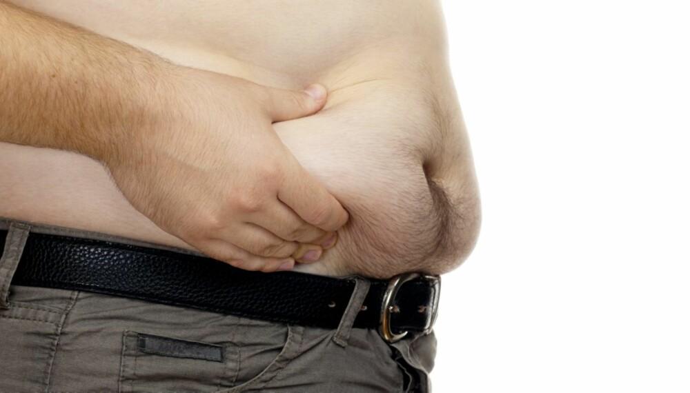 DIETT: Mange menn må ha hjelp for å slanke seg. Kodeordet er kjærlighet.