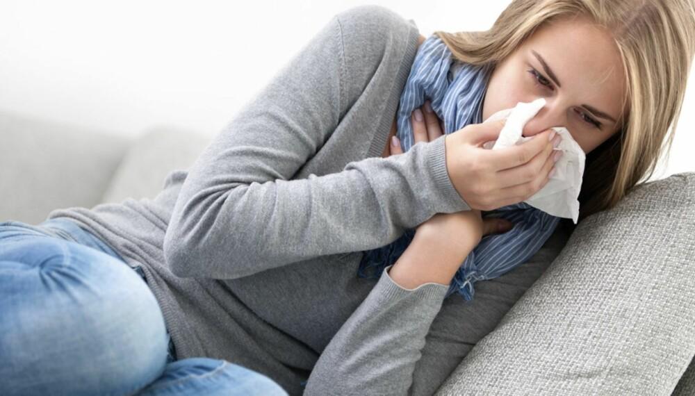 FOREBYGGE FORKJØLELSE: Ifølge ekspert trenger immunforsvaret å gå gjennom et par forkjølelser, men det finnes imidlertid råd for å unngå den - blant dem er god håndhygiene. Foto: ILLUSTRASJONSFOTO: Thinkstock