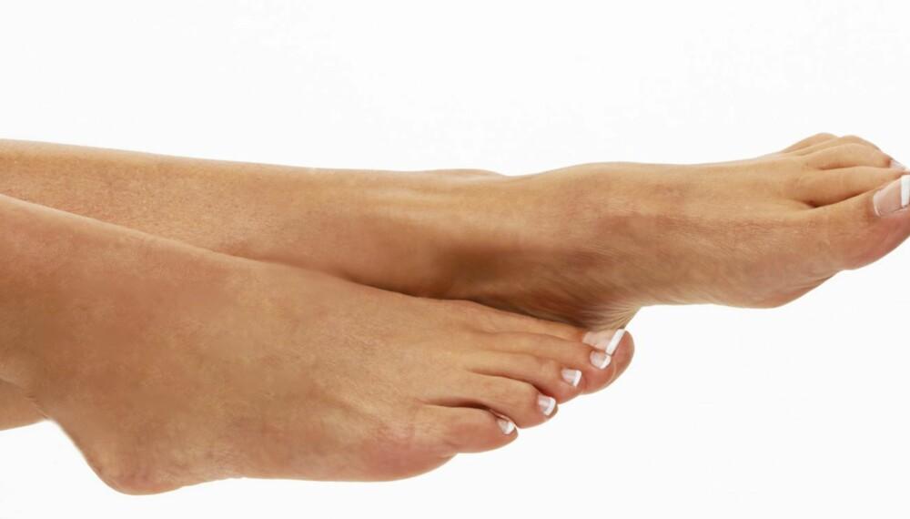VINTER: Om du steller føttene dine i vinter, slipper du typiske plager som hard hud, fotsopp og vorter.