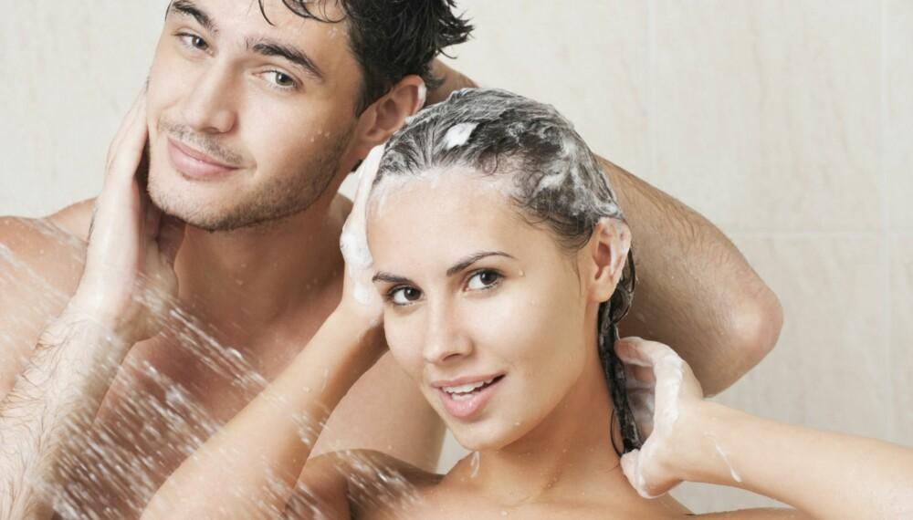 GLEMMER FØTTENE: De fleste begynner å vaske seg øverst og fortsetter nedover, men hvor mange av oss stopper ved knærne?