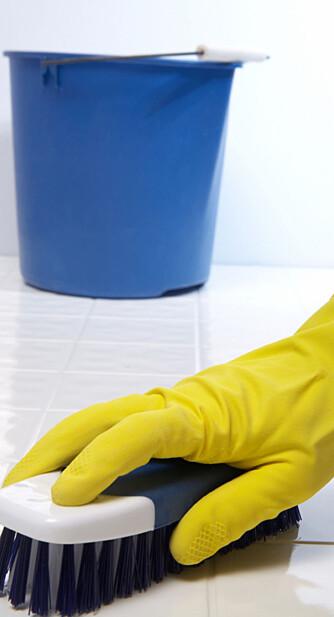 RENT OG TRENT: Riktig utført og med den rette intensiteten er gulvvasken jevngod med en time på treningsstudioet.