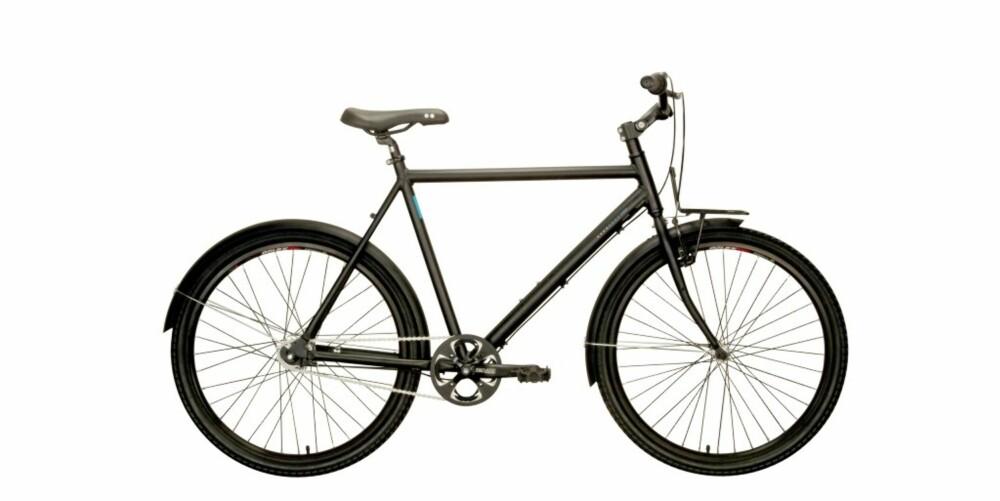 BYSYKKEL: Nærmere en klassisk allround-sykkel kommer du ikke.