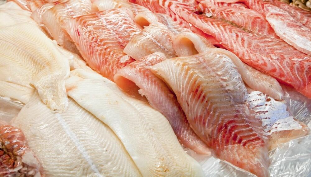 USPISELIG: Forbrukerrådet mener 10 prosent av fisken i butikk er ubrukelig som menneskeføde.