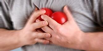 OFTE UFARLIG: Det er ikke uvanlig med hjertebank og hjerterytmeforstørrelse, og som oftest er det helt ufarlig.