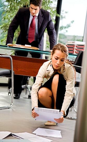 ØKT RISIKO: Desto lenger man blir i bedriften der man ikke føler seg verdsatt av sjefen, desto større risiko er det for å få hjerteproblemer.