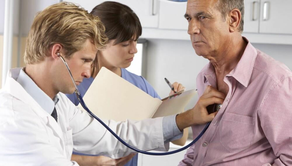 HJERTEINFARKT: Hjerteinfarkt har tradisjonelt vært en mannssykdom, men nå blir flere kvinner rammet av sykdommen.