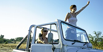 FARLIG: Å leie bil kan være noe av det farligste du gjør i utlandet.