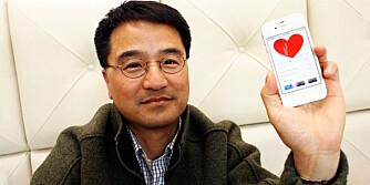 SMART: Hjernen bak appen, professor Ki Chon ved Worcester Polytechnic Institute i Massachusets.