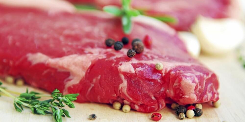 HUSK HYGIENEN: Rått kjøtt kan spre E.coli og salmonella.