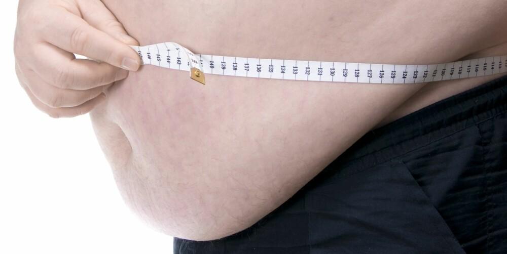 RISIKO: Påse at midjemålet ligger under 88 centimeter hvis man er kvinne, og under 102 centimeter hvis man er mann. Da minsker risikoen for hjerteinfarkt.