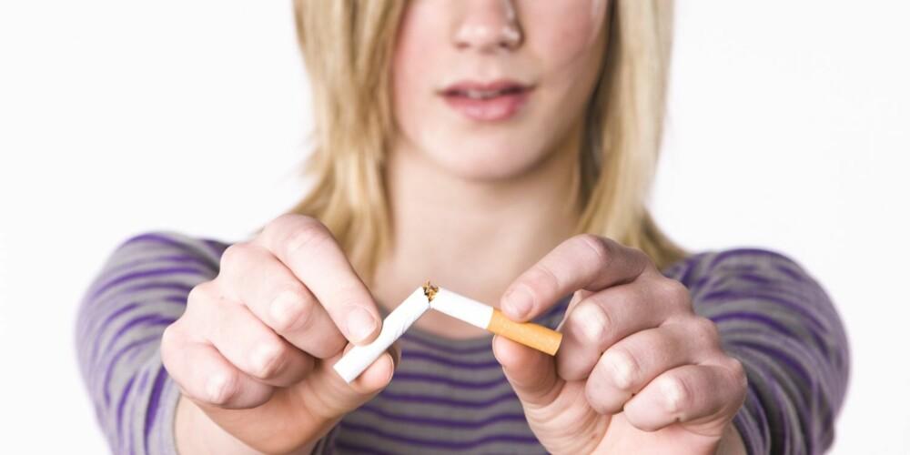 STØTTE: Med støtte fra andre røykere og eksrøykere, kan man nå få hjelp til røykeslutt på Facebook.