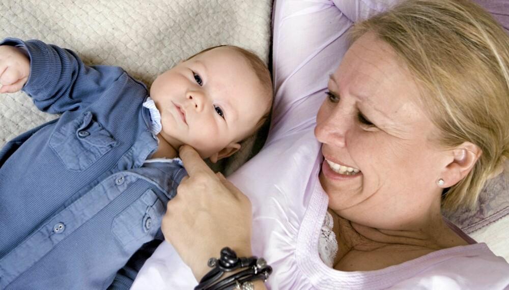 MAMMALYKKE: Aase da Rocha trodde at hun ikke kunne få flere barn. Plutselig kom lille Nicolas og ga en hel familie gledessjokk!